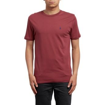 Volcom Crimson Stone Blanks Red T-Shirt