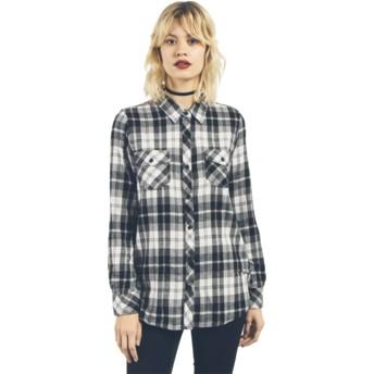 Volcom Black Combo Desert Fly Black Long Sleeve Shirt