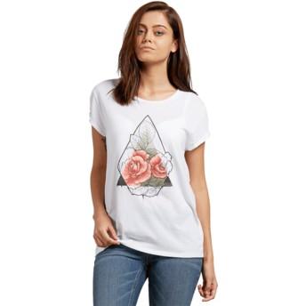 Volcom Roses White Radical Daze White T-Shirt