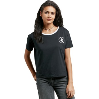 Volcom Black Simply Stoned Black T-Shirt