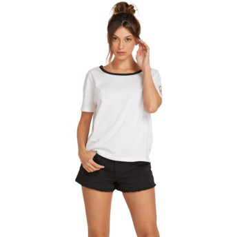 Volcom White One Of Each White T-Shirt