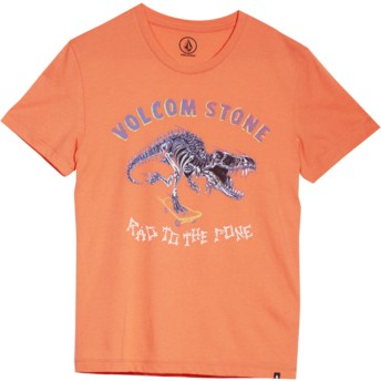 Volcom Youth Salmon Rad Rex Red T-Shirt