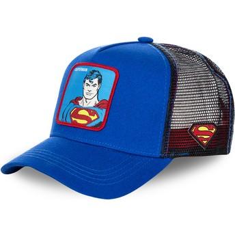 Capslab Classic Superman DC2 SUP DC Comics Blue Trucker Hat