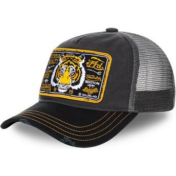 Von Dutch Tiger TRUCK13 Grey Trucker Hat
