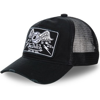 Von Dutch TRUCK07 Black Trucker Hat