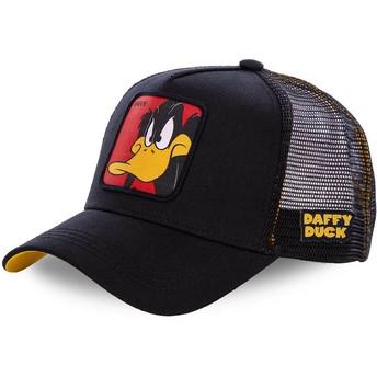 Capslab Daffy Duck DAF1 Looney Tunes Black Trucker Hat