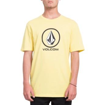 Volcom Yellow Crisp Stone Yellow T-Shirt