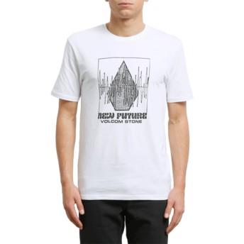 Volcom White Lay It Down White T-Shirt