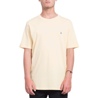 Volcom Light Peach Stone Blank Orange T-Shirt
