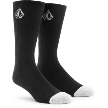 Volcom Black Full Stone Black Socks