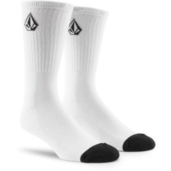 Volcom White Full Stone White Socks