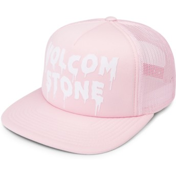Volcom Light Pink Liberate Pink Trucker Hat