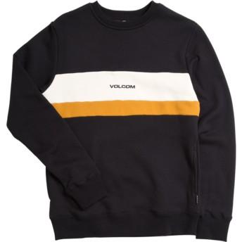Volcom Youth Black Single Stone Division Black Sweatshirt