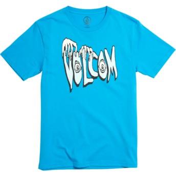 Volcom Youth Division Cyan Blue Volcom Panic Blue T-Shirt