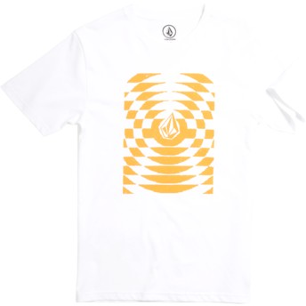 Volcom Youth Division White Check Wreck White T-Shirt