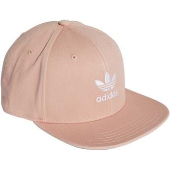 Adidas Flat Brim Trefoil Adicolor Pink Snapback Cap