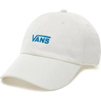 Vans Curved Brim Court Side White Adjustable Cap
