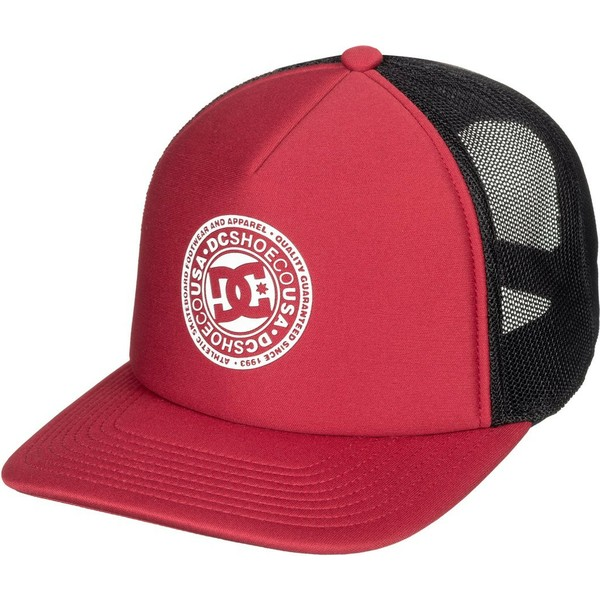 DC Shoes Vested Up Red and Black