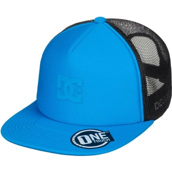 DC Shoes Greet Up Blue Trucker Hat