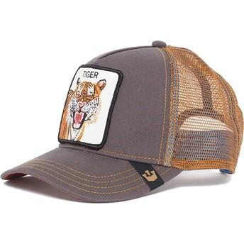 Goorin Bros. Eye of the Tiger Brown Trucker Hat