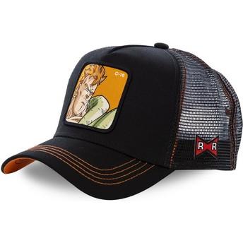 Capslab Android C-16 C16B Dragon Ball Black Trucker Hat