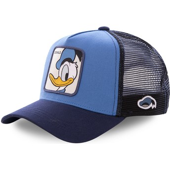 Capslab Donald Duck DUC1 Disney Blue Trucker Hat