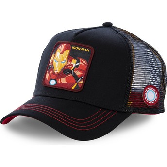 Capslab Iron Man IRO2 Marvel Comics Black Trucker Hat