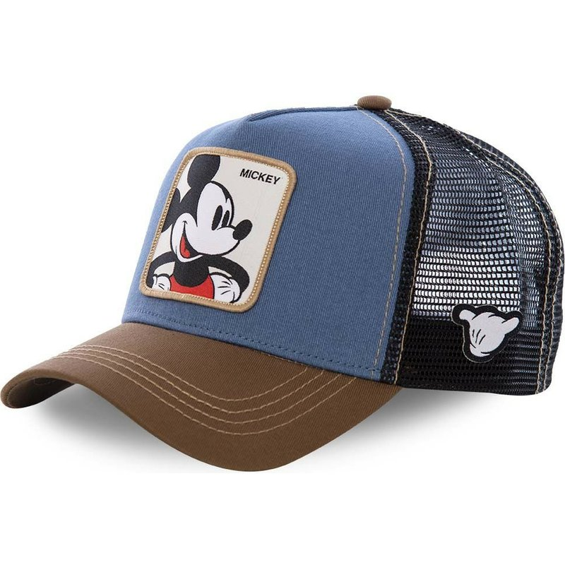 capslab-mickey-mouse-mic1-disney-blue-black-and-brown-trucker-hat