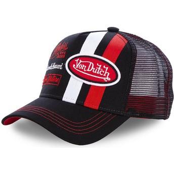 Von Dutch MCQBLA Black Trucker Hat