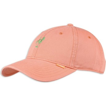 Djinns Curved Brim Washed Girl Pink Adjustable Cap