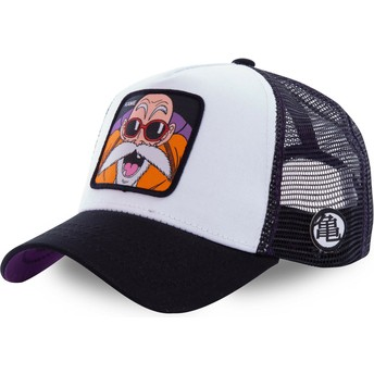 Capslab Master Roshi KAM4 Dragon Ball White Trucker Hat