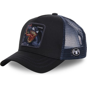 Capslab Venom VEN1 Marvel Comics Black Trucker Hat