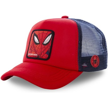 Capslab Spider-Man SPI4M Marvel Comics Red and Blue Trucker Hat