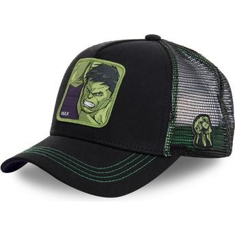 Capslab Hulk HLK2 Marvel Comics Black Trucker Hat