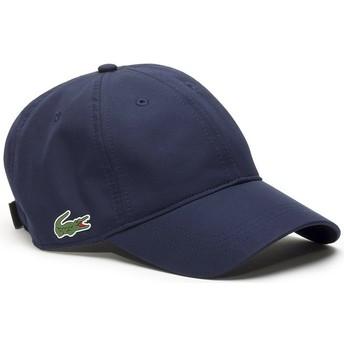 Lacoste Curved Brim Basic Dry Fit Navy Blue Adjustable Cap