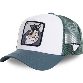 Capslab Peg-Leg Pete PET1 Disney White and Blue Trucker Hat