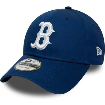 New Era Curved Brim 9FORTY League Essential Boston Red Sox MLB Blue Adjustable Cap