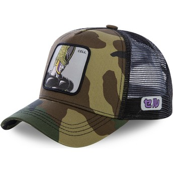 Capslab Cell CEL Dragon Ball Camouflage Trucker Hat