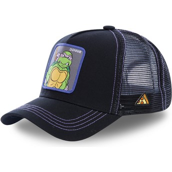 Capslab Donatello DON Teenage Mutant Ninja Turtles Black Trucker Hat
