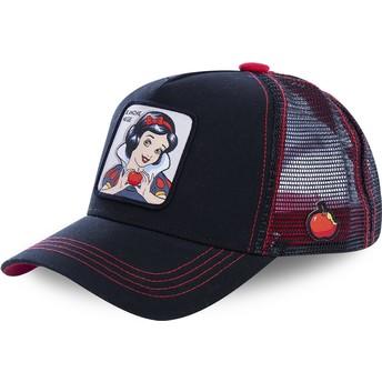 Capslab Snow White SNO1 Disney Black Trucker Hat