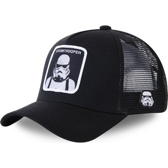 Capslab Stormtrooper BA Star Wars Black Trucker Hat