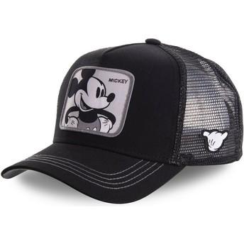 Casquette trucker noire Mickey Mouse MIC5 Disney Capslab