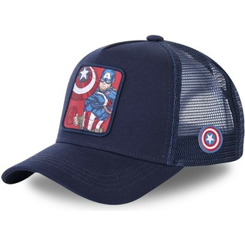 Capslab Captain America CPT1 Marvel Comics Navy Blue Trucker Hat