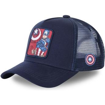 Capslab Captain America CPT1 Marvel Comics Navy Blue Trucker Hat