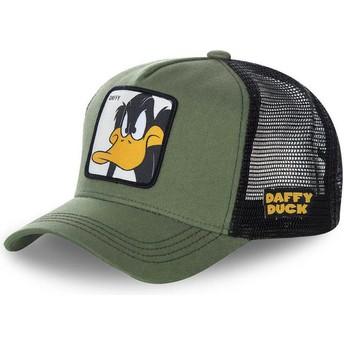 Casquette trucker verte Daffy Duck DAF2 Looney Tunes Capslab