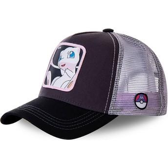 Capslab Mew MEW3 Pokémon Black and White Trucker Hat