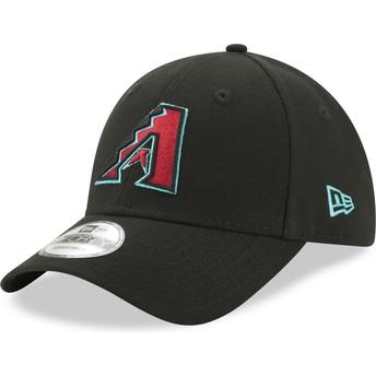 New Era Curved Brim 9FORTY The League Arizona Diamondbacks MLB Black Adjustable Cap