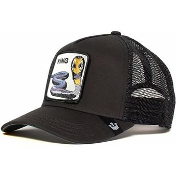 Goorin Bros. Cobra Bite Me Black Trucker Hat