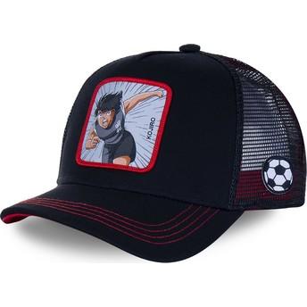 Capslab Kojiro Hyuga HYU2 Captain Tsubasa Black Trucker Hat