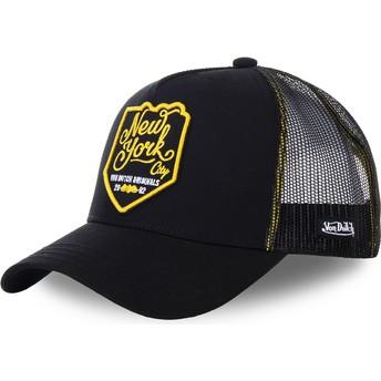 Von Dutch New York City NEW3 Black Trucker Hat